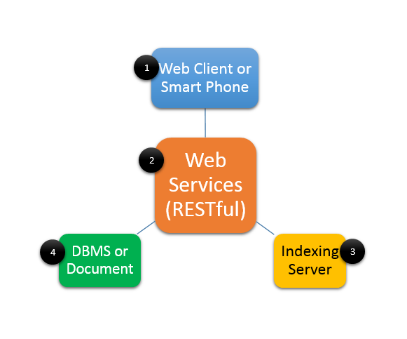 an example of a dbms used in the web-based application